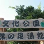 稲取文化公園 雛の足湯で癒されませんか?