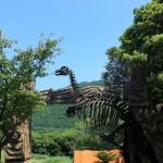 伊豆アニマルキングダムに恐竜現る!!! in 伊豆稲取温泉