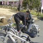 日本テレビ「自転車百景」の撮影♪