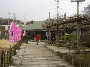 メイン会場「雛の館」の入口