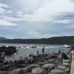 稲取 池尻海岸ウキウキビーチ8月21日(日)10:30~遊泳注意に変更しました