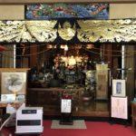 雛のつるし飾り展示会場として正定寺本堂も見学できます